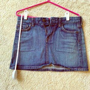 Citizens of Humanity denim mini skirt sz 27